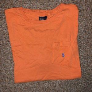 Single stitched Polo Ralph Lauren pocket t shirt